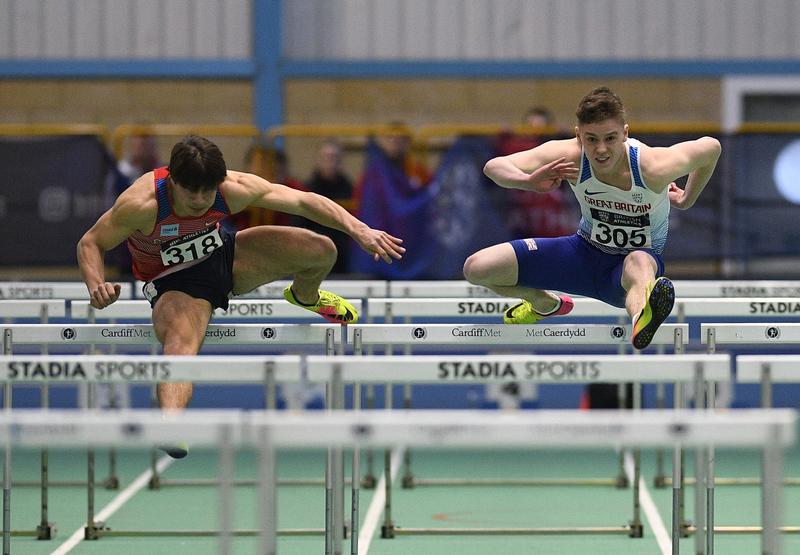 _GRG5758(1).jpg :: in action during the Welsh Senior Athletics Championships 2019 at N.I.A.C Cardiff United Kingdom on January 27 2019 Graham / GlennSports