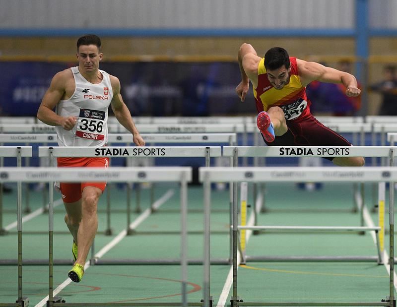 _GRG5781.jpg :: in action during the Welsh Senior Athletics Championships 2019 at N.I.A.C Cardiff United Kingdom on January 27 2019 Graham / GlennSports