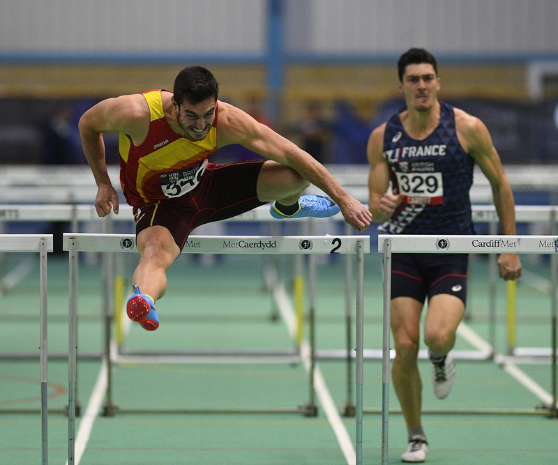 _GRG5789(1).jpg :: in action during the Welsh Senior Athletics Championships 2019 at N.I.A.C Cardiff United Kingdom on January 27 2019 Graham / GlennSports