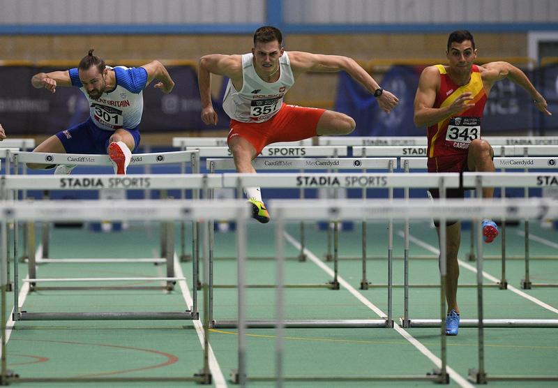 _GRG5798.jpg :: in action during the Welsh Senior Athletics Championships 2019 at N.I.A.C Cardiff United Kingdom on January 27 2019 Graham / GlennSports