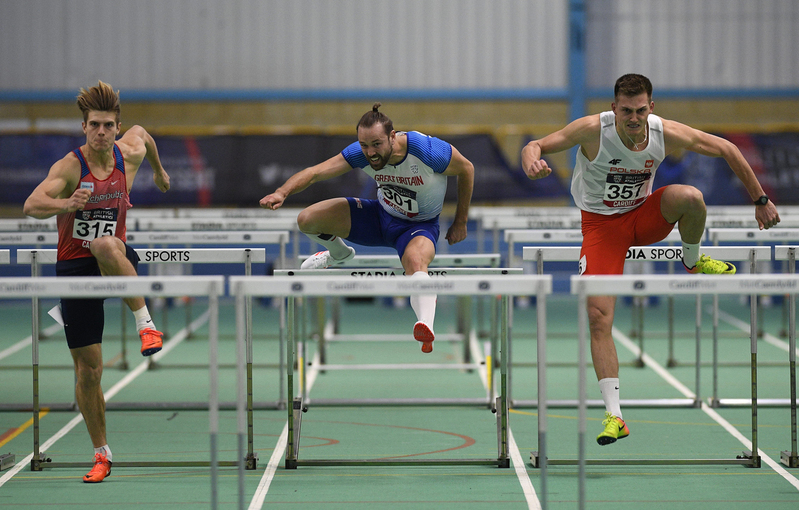 _GRG5804.jpg :: in action during the Welsh Senior Athletics Championships 2019 at N.I.A.C Cardiff United Kingdom on January 27 2019 Graham / GlennSports