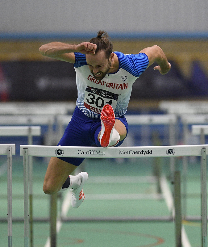 _GRG5809.jpg :: in action during the Welsh Senior Athletics Championships 2019 at N.I.A.C Cardiff United Kingdom on January 27 2019 Graham / GlennSports