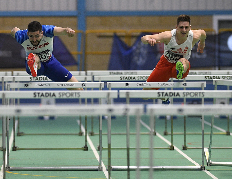 _GRG5816(1).jpg :: in action during the Welsh Senior Athletics Championships 2019 at N.I.A.C Cardiff United Kingdom on January 27 2019 Graham / GlennSports