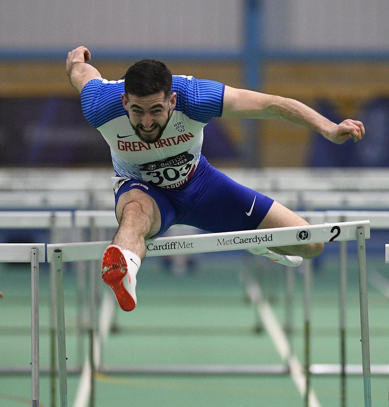 _GRG5822(1).jpg :: in action during the Welsh Senior Athletics Championships 2019 at N.I.A.C Cardiff United Kingdom on January 27 2019 Graham / GlennSports