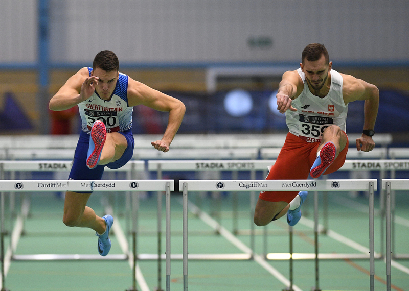 _GRG5834(1).jpg :: in action during the Welsh Senior Athletics Championships 2019 at N.I.A.C Cardiff United Kingdom on January 27 2019 Graham / GlennSports