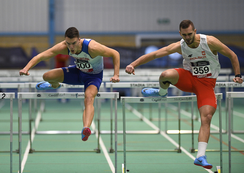 _GRG5836.jpg :: in action during the Welsh Senior Athletics Championships 2019 at N.I.A.C Cardiff United Kingdom on January 27 2019 Graham / GlennSports