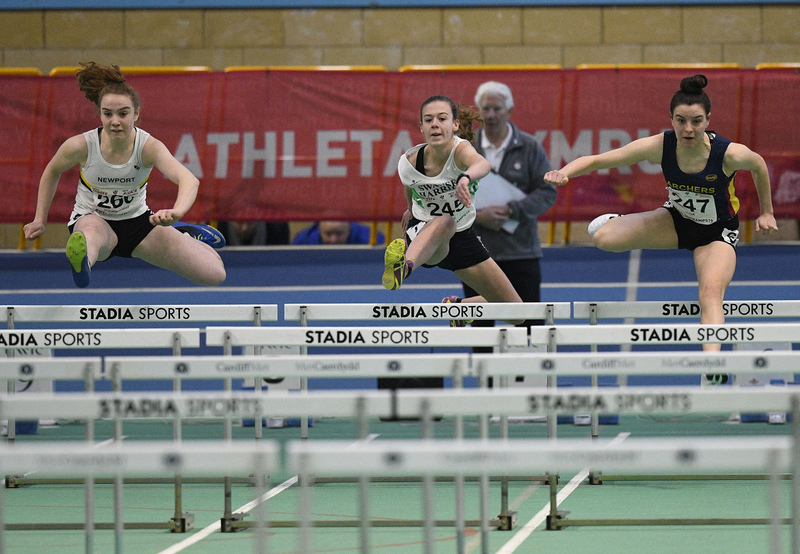 _GRG5969(1).jpg :: in action during the Welsh Junior Athletics Championships 2019 at N.I.A.C Cardiff United Kingdom on February 02 2019 Graham / GlennSports