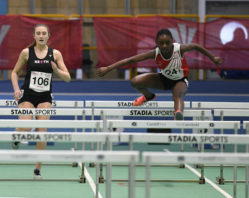 _GRG5973(1).jpg :: in action during the Welsh Junior Athletics Championships 2019 at N.I.A.C Cardiff United Kingdom on February 02 2019 Graham / GlennSports