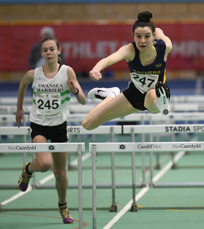 _GRG5977(1).jpg :: in action during the Welsh Junior Athletics Championships 2019 at N.I.A.C Cardiff United Kingdom on February 02 2019 Graham / GlennSports