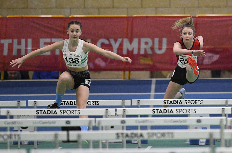 _GRG5979.jpg :: in action during the Welsh Junior Athletics Championships 2019 at N.I.A.C Cardiff United Kingdom on February 02 2019 Graham / GlennSports
