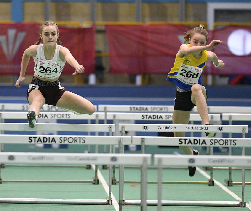_GRG5984.jpg :: in action during the Welsh Junior Athletics Championships 2019 at N.I.A.C Cardiff United Kingdom on February 02 2019 Graham / GlennSports