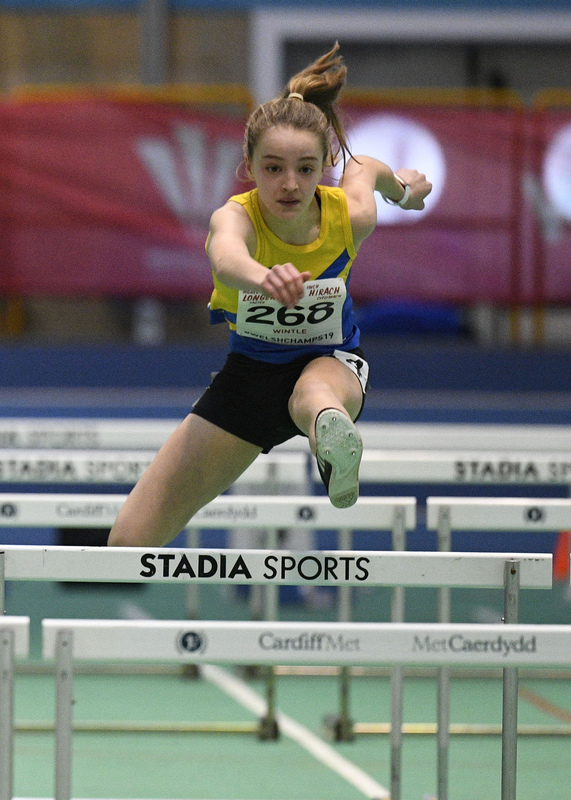 _GRG5988(1).jpg :: in action during the Welsh Junior Athletics Championships 2019 at N.I.A.C Cardiff United Kingdom on February 02 2019 Graham / GlennSports