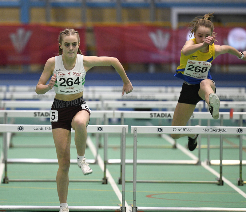 _GRG5993(1).jpg :: in action during the Welsh Junior Athletics Championships 2019 at N.I.A.C Cardiff United Kingdom on February 02 2019 Graham / GlennSports