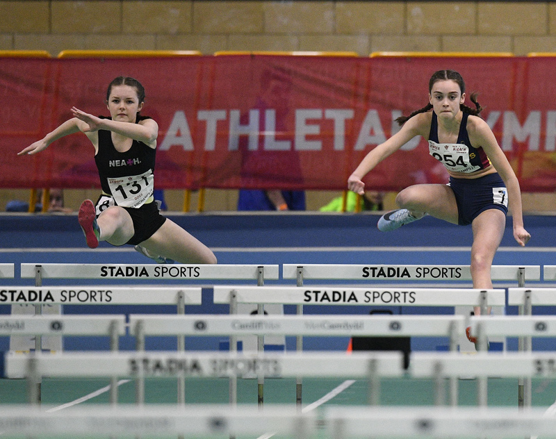 _GRG5996(1).jpg :: in action during the Welsh Junior Athletics Championships 2019 at N.I.A.C Cardiff United Kingdom on February 02 2019 Graham / GlennSports