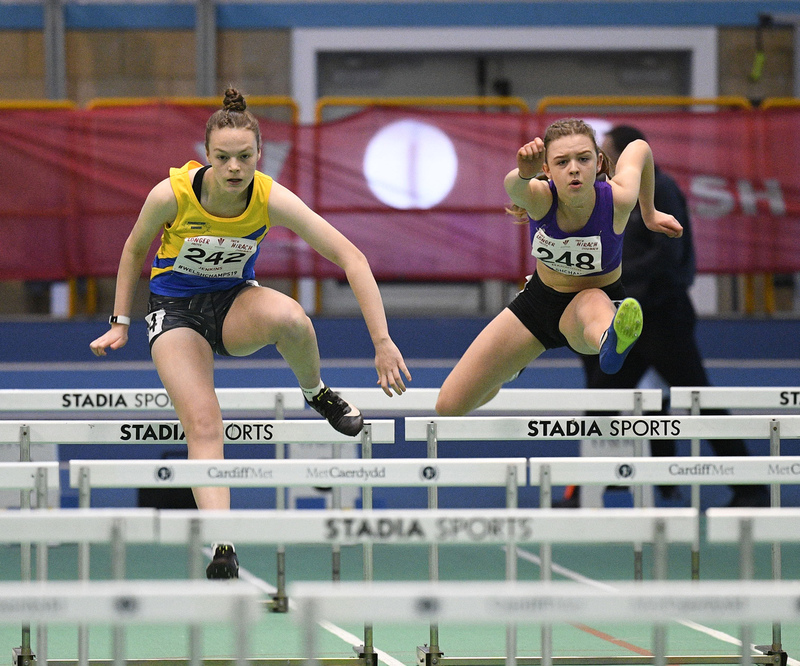 _GRG5997.jpg :: in action during the Welsh Junior Athletics Championships 2019 at N.I.A.C Cardiff United Kingdom on February 02 2019 Graham / GlennSports