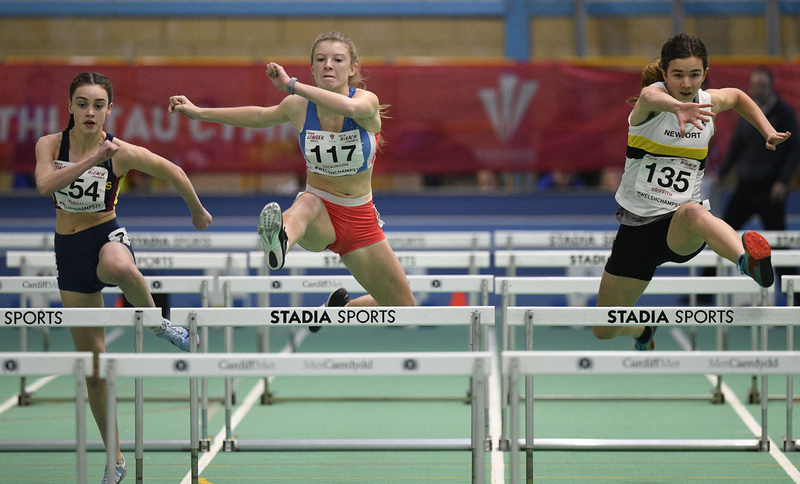 _GRG6002(1).jpg :: in action during the Welsh Junior Athletics Championships 2019 at N.I.A.C Cardiff United Kingdom on February 02 2019 Graham / GlennSports