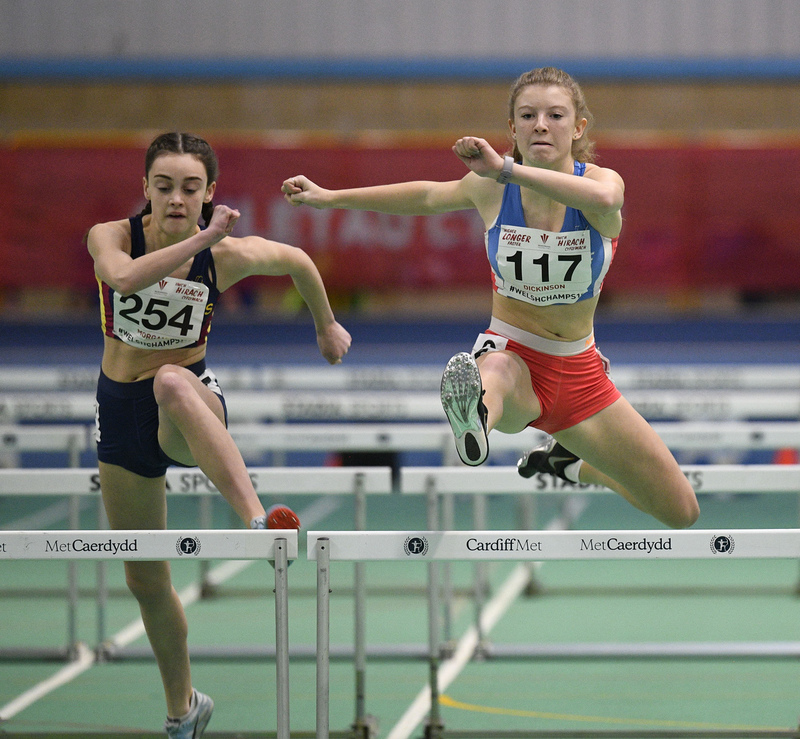 _GRG6005.jpg :: in action during the Welsh Junior Athletics Championships 2019 at N.I.A.C Cardiff United Kingdom on February 02 2019 Graham / GlennSports