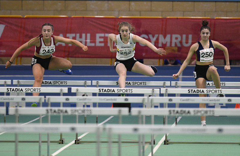 _GRG6009(1).jpg :: in action during the Welsh Junior Athletics Championships 2019 at N.I.A.C Cardiff United Kingdom on February 02 2019 Graham / GlennSports