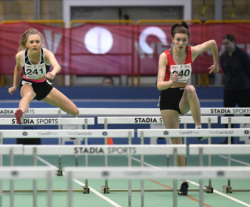 _GRG6010.jpg :: in action during the Welsh Junior Athletics Championships 2019 at N.I.A.C Cardiff United Kingdom on February 02 2019 Graham / GlennSports