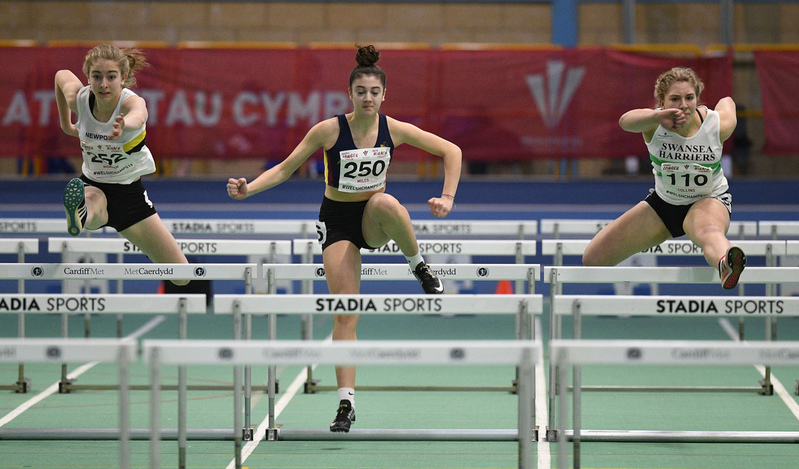 _GRG6013.jpg :: in action during the Welsh Junior Athletics Championships 2019 at N.I.A.C Cardiff United Kingdom on February 02 2019 Graham / GlennSports