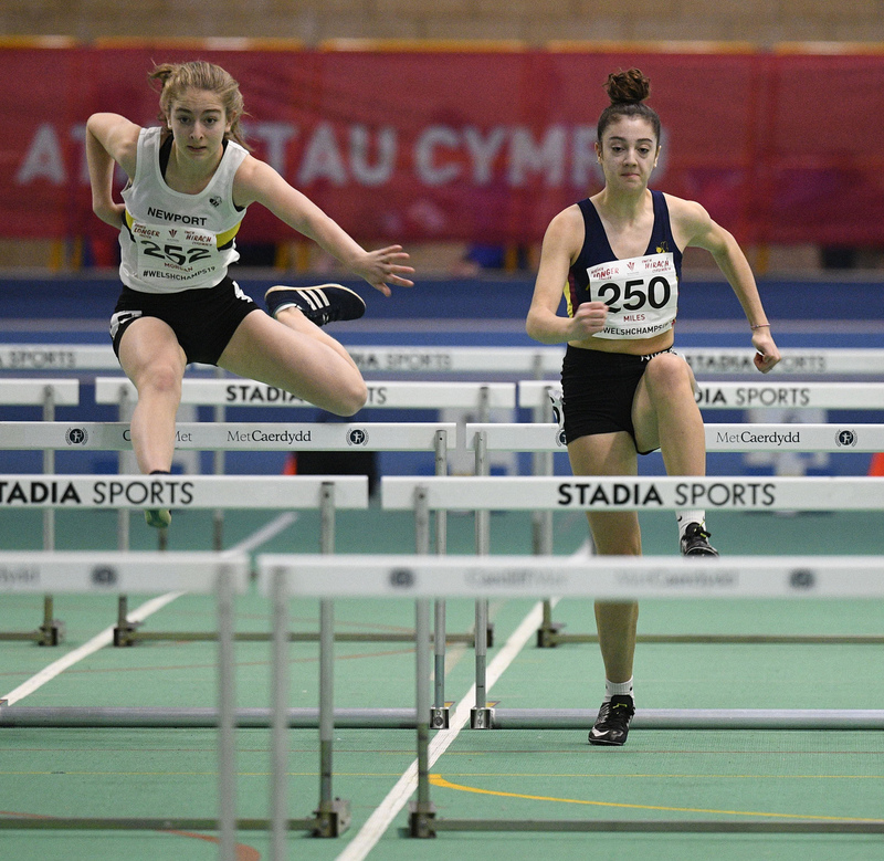 _GRG6014.jpg :: in action during the Welsh Junior Athletics Championships 2019 at N.I.A.C Cardiff United Kingdom on February 02 2019 Graham / GlennSports