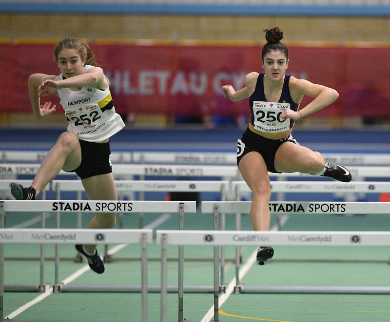 _GRG6015.jpg :: in action during the Welsh Junior Athletics Championships 2019 at N.I.A.C Cardiff United Kingdom on February 02 2019 Graham / GlennSports