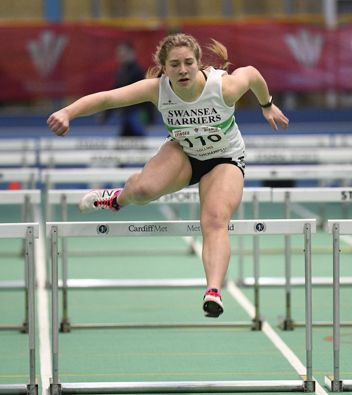 _GRG6020.jpg :: in action during the Welsh Junior Athletics Championships 2019 at N.I.A.C Cardiff United Kingdom on February 02 2019 Graham / GlennSports