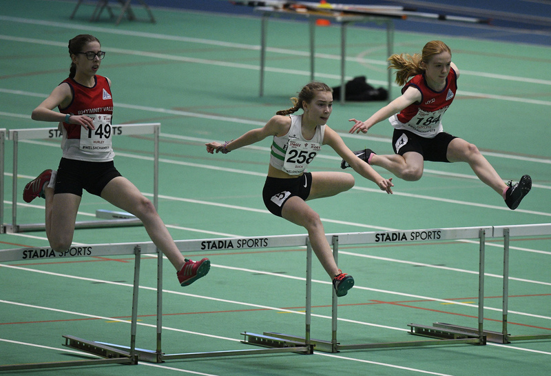 _GRG6030.jpg :: in action during the Welsh Junior Athletics Championships 2019 at N.I.A.C Cardiff United Kingdom on February 02 2019 Graham / GlennSports
