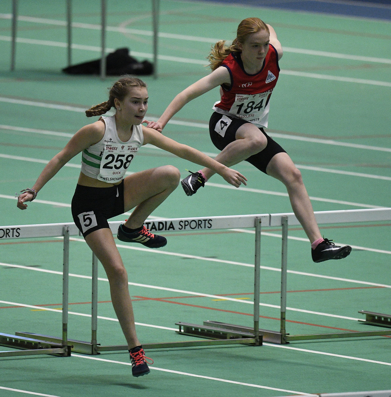 _GRG6031(1).jpg :: in action during the Welsh Junior Athletics Championships 2019 at N.I.A.C Cardiff United Kingdom on February 02 2019 Graham / GlennSports