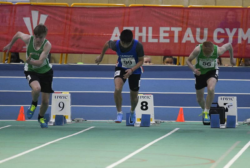_GRG6036.jpg :: in action during the Welsh Junior Athletics Championships 2019 at N.I.A.C Cardiff United Kingdom on February 02 2019 Graham / GlennSports