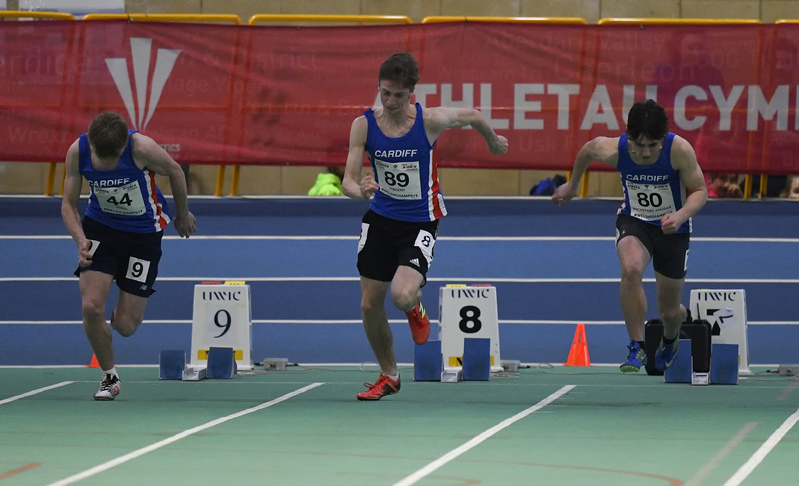 _GRG6044.jpg :: in action during the Welsh Junior Athletics Championships 2019 at N.I.A.C Cardiff United Kingdom on February 02 2019 Graham / GlennSports