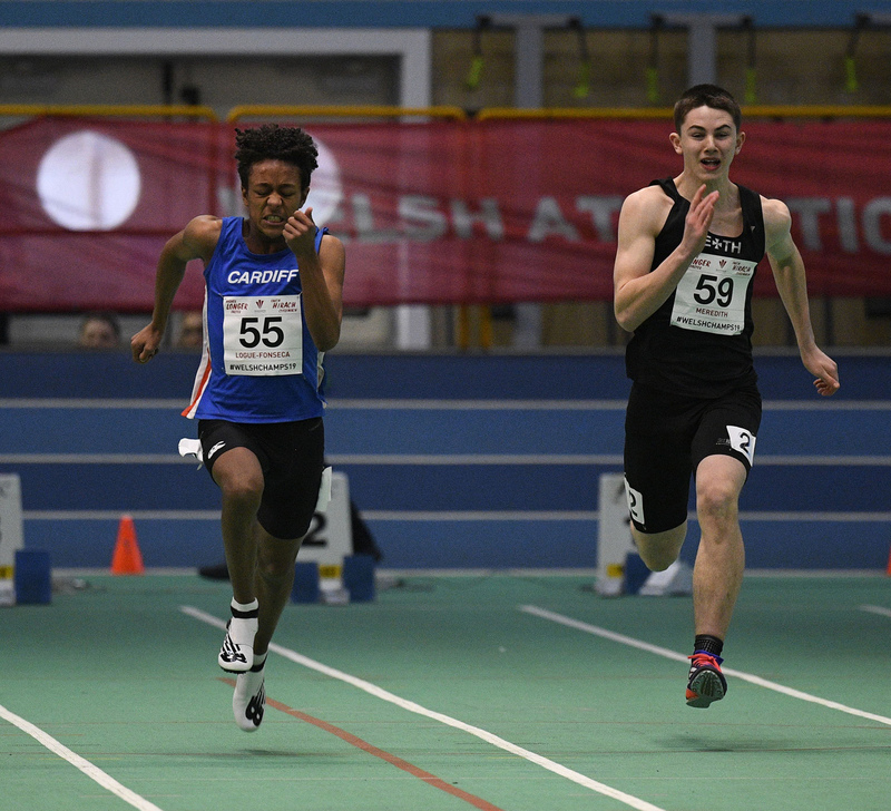 _GRG6047(1).jpg :: in action during the Welsh Junior Athletics Championships 2019 at N.I.A.C Cardiff United Kingdom on February 02 2019 Graham / GlennSports