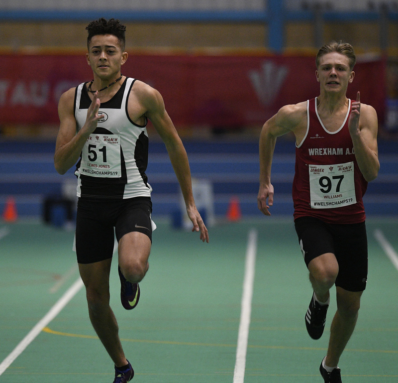 _GRG6049(1).jpg :: in action during the Welsh Junior Athletics Championships 2019 at N.I.A.C Cardiff United Kingdom on February 02 2019 Graham / GlennSports