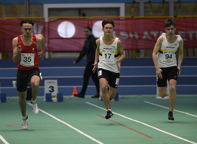 _GRG6057(1).jpg :: in action during the Welsh Junior Athletics Championships 2019 at N.I.A.C Cardiff United Kingdom on February 02 2019 Graham / GlennSports