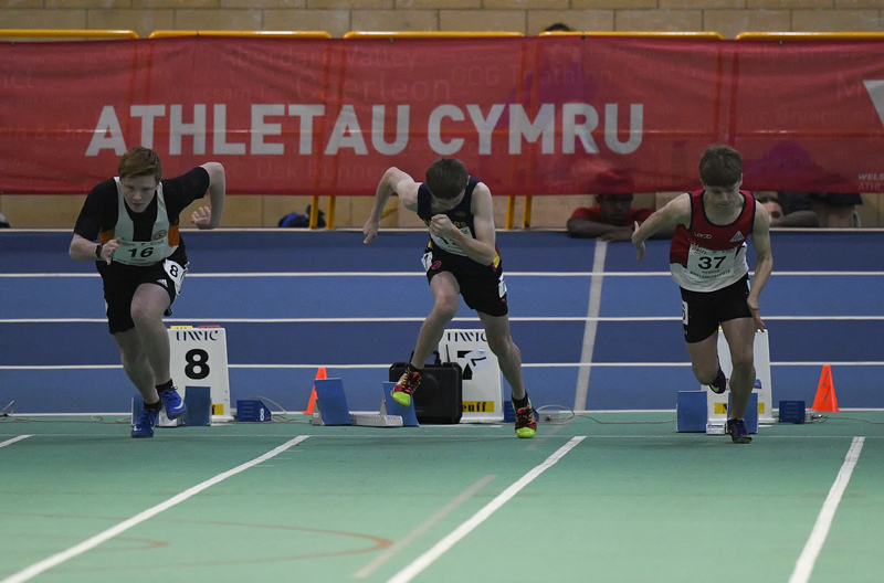 _GRG6058.jpg :: in action during the Welsh Junior Athletics Championships 2019 at N.I.A.C Cardiff United Kingdom on February 02 2019 Graham / GlennSports
