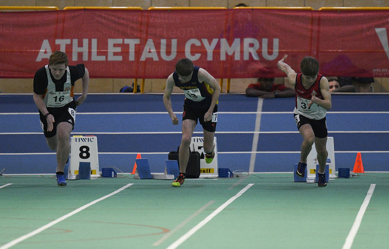_GRG6059(1).jpg :: in action during the Welsh Junior Athletics Championships 2019 at N.I.A.C Cardiff United Kingdom on February 02 2019 Graham / GlennSports