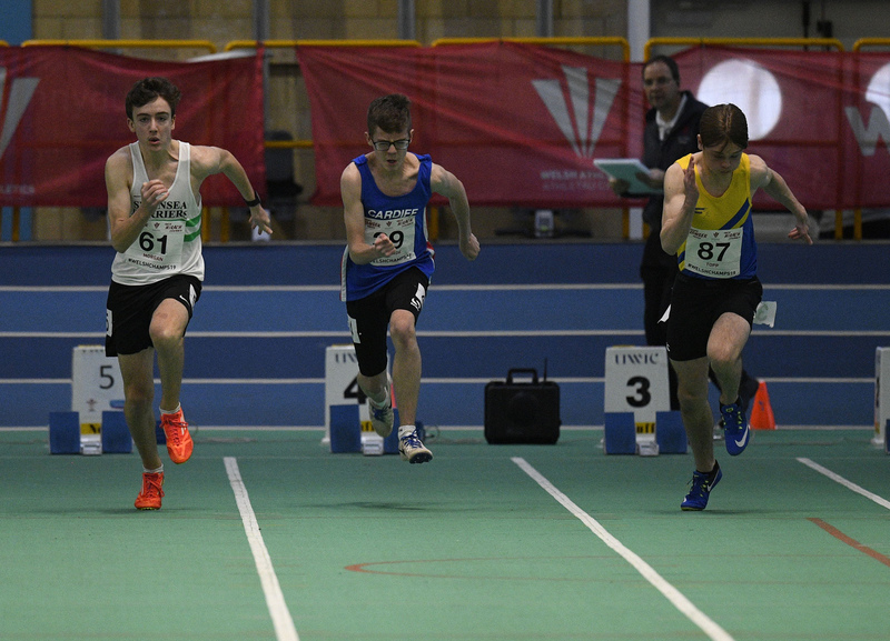 _GRG6060.jpg :: in action during the Welsh Junior Athletics Championships 2019 at N.I.A.C Cardiff United Kingdom on February 02 2019 Graham / GlennSports