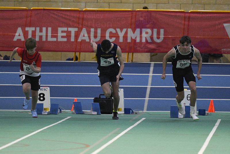 _GRG6067(1).jpg :: in action during the Welsh Junior Athletics Championships 2019 at N.I.A.C Cardiff United Kingdom on February 02 2019 Graham / GlennSports