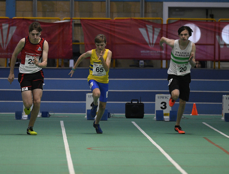 _GRG6069(1).jpg :: in action during the Welsh Junior Athletics Championships 2019 at N.I.A.C Cardiff United Kingdom on February 02 2019 Graham / GlennSports
