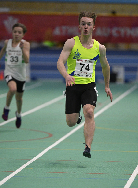 _GRG6079(1).jpg :: in action during the Welsh Junior Athletics Championships 2019 at N.I.A.C Cardiff United Kingdom on February 02 2019 Graham / GlennSports