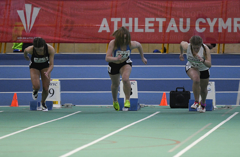 _GRG6082(1).jpg :: in action during the Welsh Junior Athletics Championships 2019 at N.I.A.C Cardiff United Kingdom on February 02 2019 Graham / GlennSports