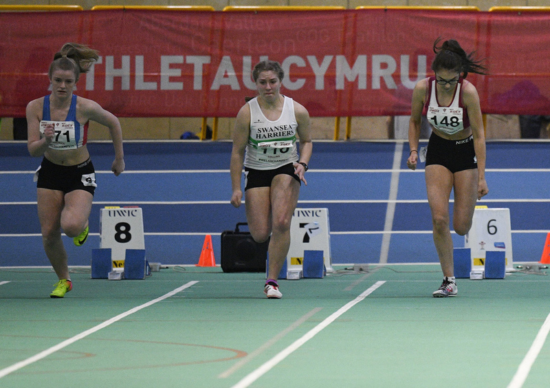 _GRG6083.jpg :: in action during the Welsh Junior Athletics Championships 2019 at N.I.A.C Cardiff United Kingdom on February 02 2019 Graham / GlennSports