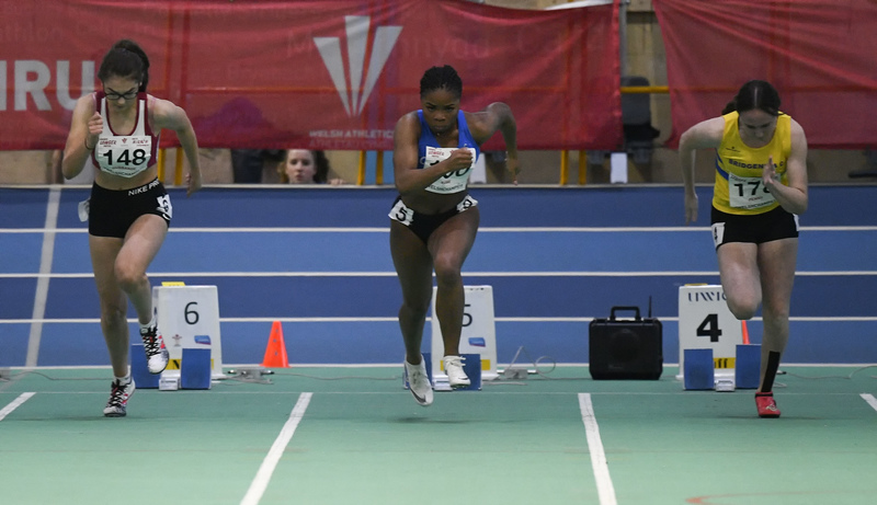 _GRG6084(1).jpg :: in action during the Welsh Junior Athletics Championships 2019 at N.I.A.C Cardiff United Kingdom on February 02 2019 Graham / GlennSports