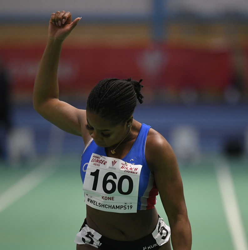 _GRG6091(1).jpg :: in action during the Welsh Junior Athletics Championships 2019 at N.I.A.C Cardiff United Kingdom on February 02 2019 Graham / GlennSports
