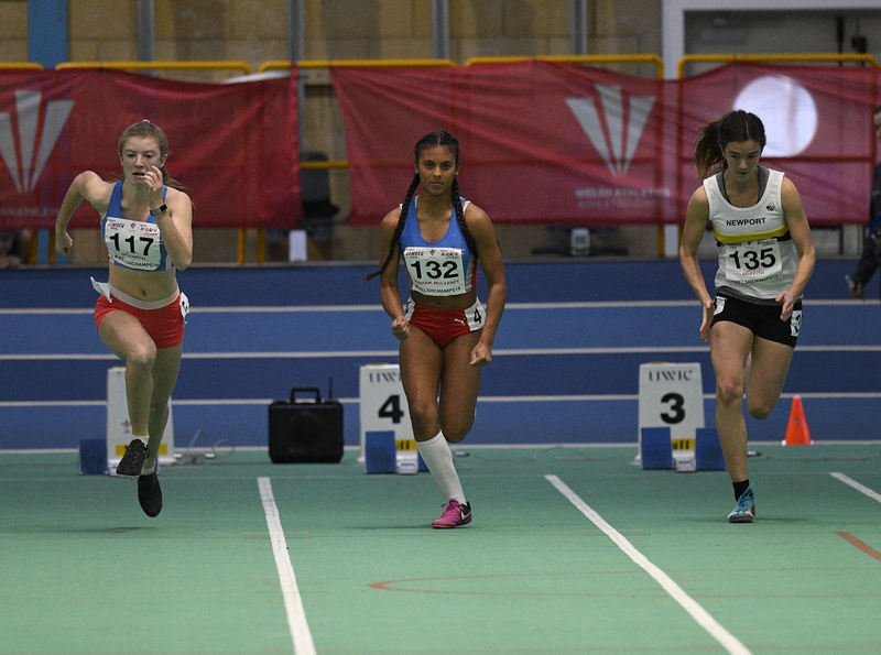 _GRG6094.jpg :: in action during the Welsh Junior Athletics Championships 2019 at N.I.A.C Cardiff United Kingdom on February 02 2019 Graham / GlennSports