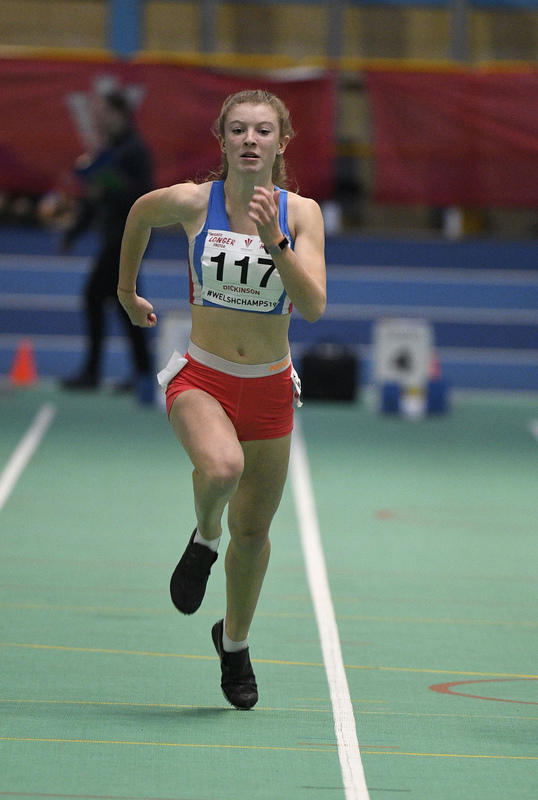 _GRG6096.jpg :: in action during the Welsh Junior Athletics Championships 2019 at N.I.A.C Cardiff United Kingdom on February 02 2019 Graham / GlennSports