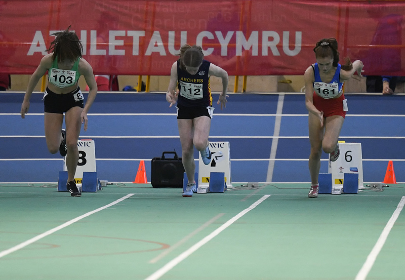 _GRG6102.jpg :: in action during the Welsh Junior Athletics Championships 2019 at N.I.A.C Cardiff United Kingdom on February 02 2019 Graham / GlennSports