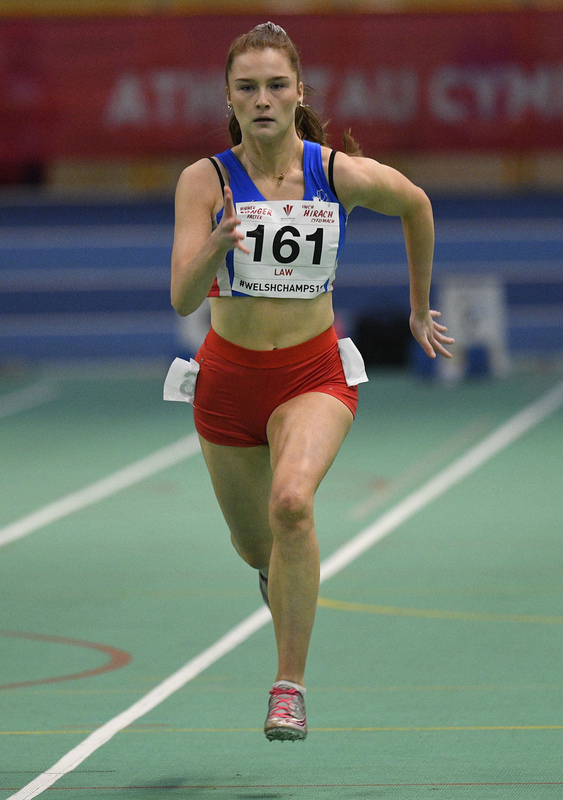 _GRG6108.jpg :: in action during the Welsh Junior Athletics Championships 2019 at N.I.A.C Cardiff United Kingdom on February 02 2019 Graham / GlennSports