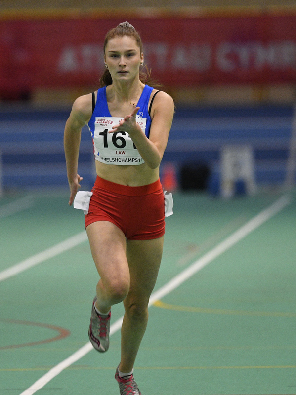 _GRG6110.jpg :: in action during the Welsh Junior Athletics Championships 2019 at N.I.A.C Cardiff United Kingdom on February 02 2019 Graham / GlennSports