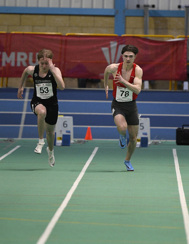 _GRG6112.jpg :: in action during the Welsh Junior Athletics Championships 2019 at N.I.A.C Cardiff United Kingdom on February 02 2019 Graham / GlennSports
